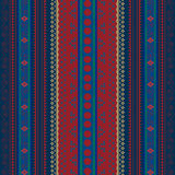 Traditional pattern. Background with African ornaments, pattern Stock Photography