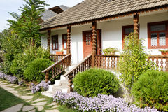 Traditional peasant house in the Republic of Moldova Royalty Free Stock Photography