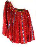 Traditional Costume in Romania. Traditional handmade costume in Romania stock photography