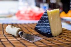 Traditional Pecorino cheese (italian food) Royalty Free Stock Photos