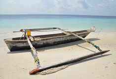 Traditional Pemba fishing dhow Stock Photos