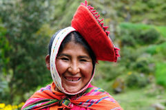 Traditional people from Peru Royalty Free Stock Photos
