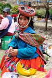 Traditional people from Peru Royalty Free Stock Photo