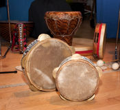 Traditional Percussion Instruments Royalty Free Stock Image