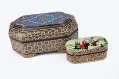 Traditional Persian mosaic handmade - Khatam Stock Images