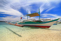 Traditional Philippines boat Stock Photo