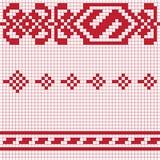 Traditional pixel pattern Stock Image