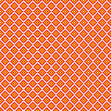 Traditional pixel seamless square pattern Stock Image
