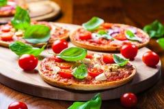 Traditional Pizza stock photos