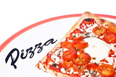 Traditional Pizza Margherita Stock Images