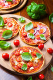 Traditional pizza Royalty Free Stock Photography