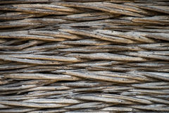 Traditional plaiting fence. Texture, good for background image Royalty Free Stock Photography