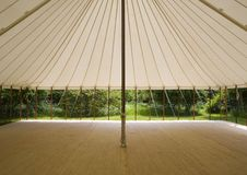 Traditional pole marquee Stock Photos