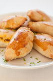 Traditional Polish Baked Dumplings Royalty Free Stock Images