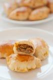 Traditional Polish Baked Dumplings Stock Photography