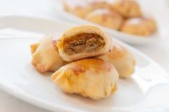 Traditional Polish Baked Dumplings Stock Images