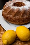 Babka sand cake Easter Polish bakery Stock Photo