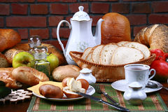 Traditional polish breakfast Royalty Free Stock Photos
