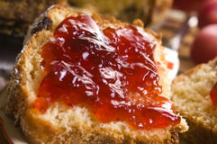 Free Traditional Polish Cake With Apple Marmelade Stock Photography - 26336932