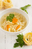 Traditional Polish Chicken Broth Royalty Free Stock Images
