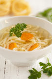 Traditional Polish Chicken Broth Stock Photography