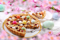 Traditional polish easter cake mazurek Stock Photo