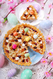 Traditional polish easter cake mazurek Royalty Free Stock Image