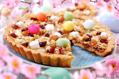Traditional polish easter cake mazurek Royalty Free Stock Images