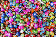 Traditional polish Easter eggs Royalty Free Stock Image