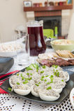 Traditional Polish Easter food. On the table royalty free stock photo