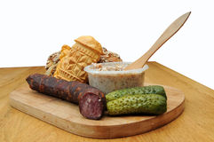 Traditional Polish food Royalty Free Stock Images