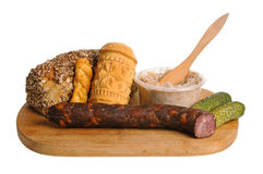 Traditional Polish food Stock Photography