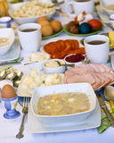 Traditional Polish food Stock Image