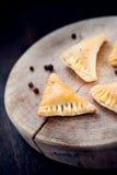 Traditional polish fried pierogi Royalty Free Stock Photography