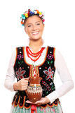 Traditional Polish girl Royalty Free Stock Photos