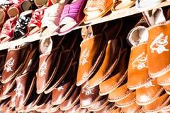Traditional polish leather  Royalty Free Stock Photo
