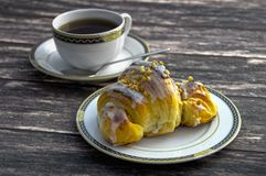 Traditional polish Martins croissants Stock Photography