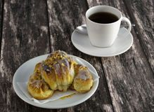 Traditional polish Martins croissants Royalty Free Stock Photo