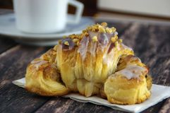 Traditional polish Martins croissants Stock Photo