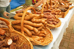 Traditional Polish meet Royalty Free Stock Photo