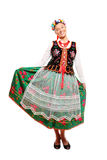 Traditional Polish outfit Stock Photos