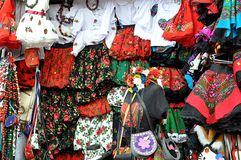 Traditional Polish outfit Royalty Free Stock Photos