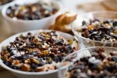 Traditional polish poppy seeds dessert Stock Photos