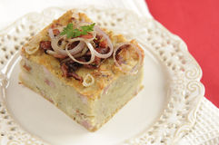 Traditional Polish Potato Babka Royalty Free Stock Image