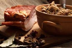Traditional polish sauerkraut. Royalty Free Stock Photo