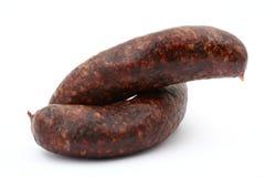 Traditional polish  sausage Stock Photo