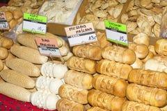 Traditional polish smoked cheese oscypek Stock Photography