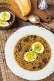 Traditional Polish soup. Stock Images