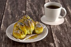Traditional polish Martins croissants Royalty Free Stock Images