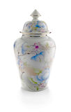Traditional porcelain pot royalty free stock photos